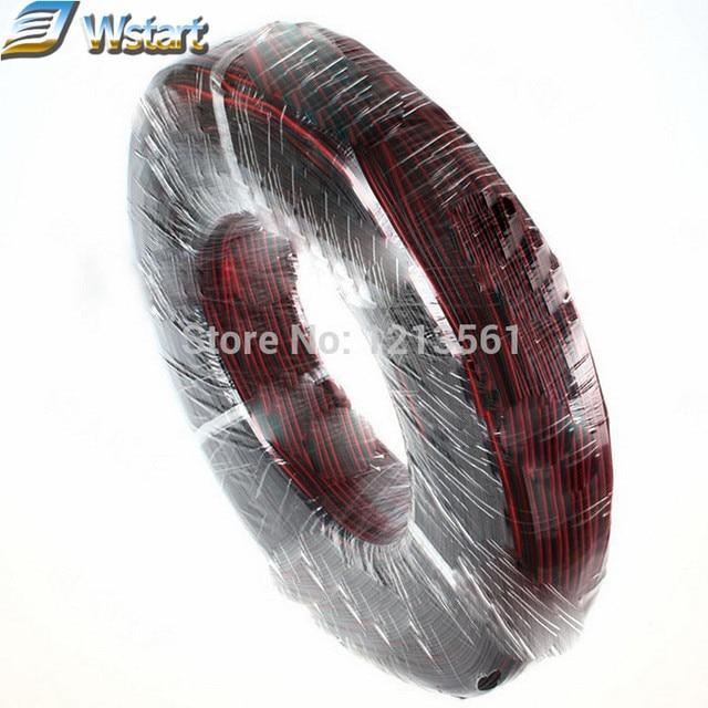 UL2468 20 Meter 2pin verzinnt Kupfer 26AWG Draht PVC isolierte ...