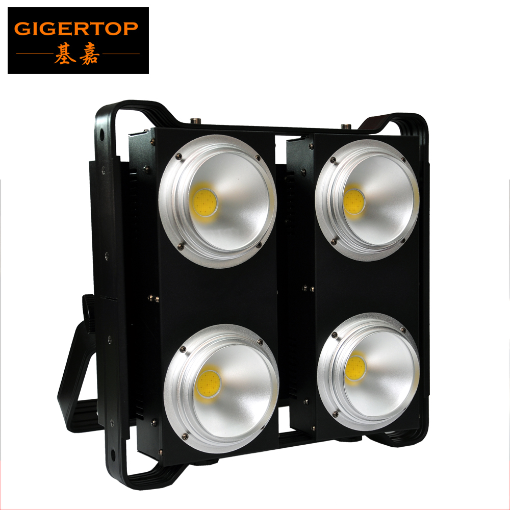 TIPTOP COB LED BLINDER 4 Warm White/Cold White/2in1 Warm+Cold LED 4 COB Blinder Audience Light Refector Cup CW WW 2in1 Tyanshine