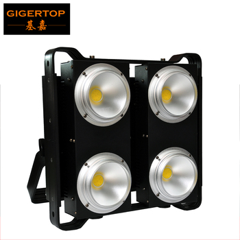 TIPTOP COB LED BLINDER 4 Warm Wit/Koud Wit/2in1 Warm + Koude LED 4 COB Blinder Publiek licht Refector Cup CW WW 2in1 Tyanshine