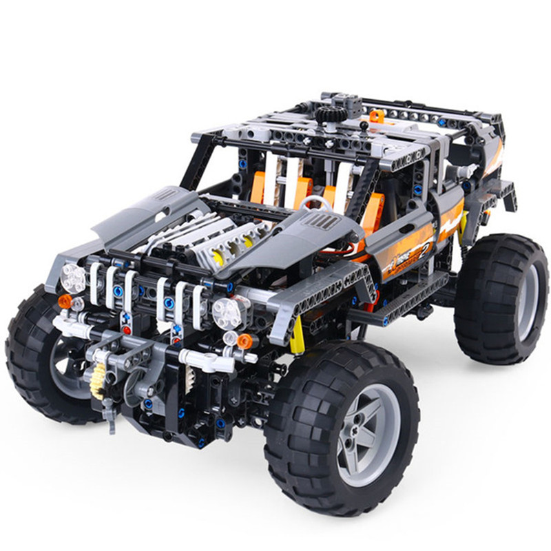 1132pcs Technic Ultimate Series The Off-Roader Set Children Educational Building Blocks legoingly Bricks Toys for children lepin 20030 1132pcs technik ultimate off roader cars legoingly 8297 sets building nano block bricks toys for boy gifts