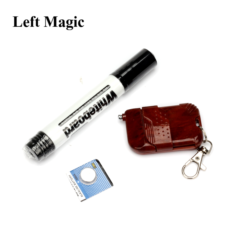 Mystical Power Mental Power Pen Remote Control Appearing Magic Tricks Remote Shock Pen Close Up Magic Props Illusion Psychic
