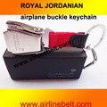 Freeshipin Royal Jordanian KLM авиакомпании Emirates самолет ремня безопасности брелок брелок горячий продавать самолет пряжка брелок
