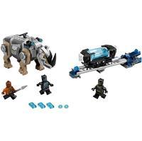 Lepin 07100 Genuine Super Hero Series Black Panther Set Building Blocks Toys For Children Gifts LegoINGlys