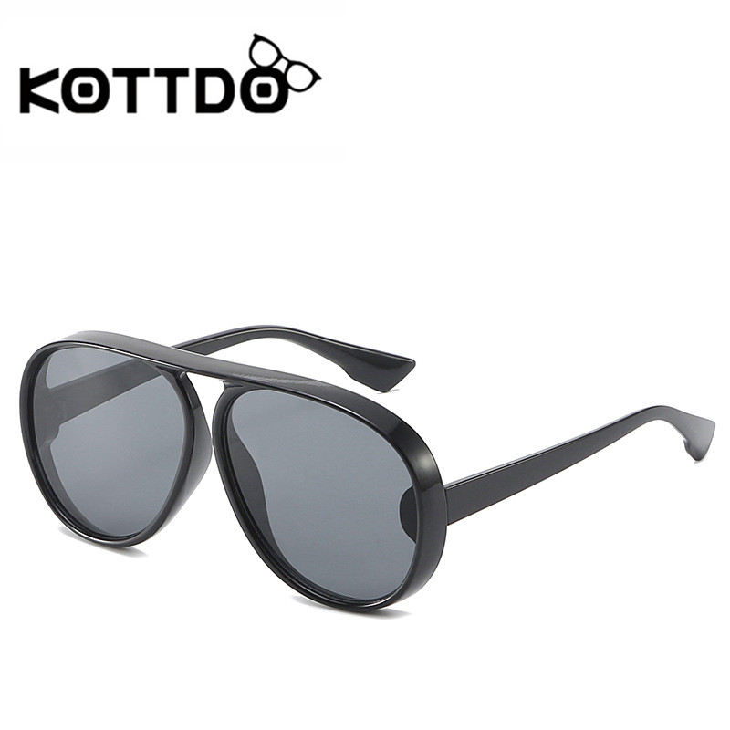 aeb17ecb43 ... Feedback Questions about KOTTDO High Quality Travel Cat Eye Sunglasses  Women Brand Vintage Retro Big Frame Driving Sunglasses Female party Sun  Glasses ...