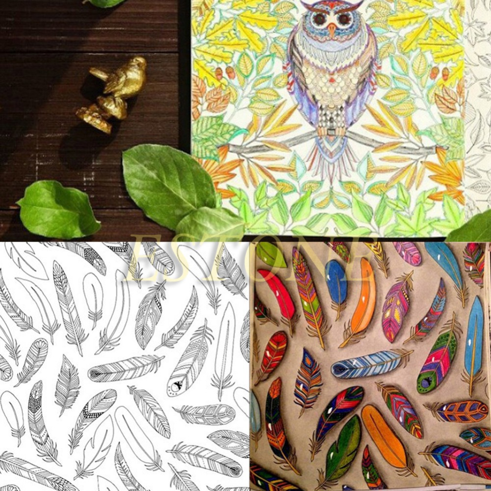 SECRET GARDEN An Inky Treasure Hunt And Coloring Book By Johanna Basford Hot In Books From Office School Supplies On Aliexpress