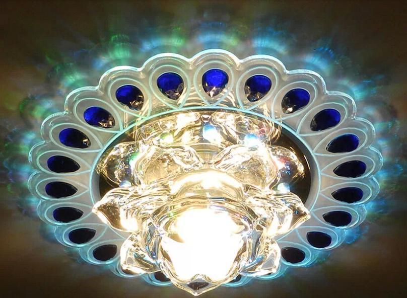 Colorpai 3 Watt 2014 Luxus Kristall Lampen Deckenleuchte Innenbeleuchtung Wohnzimmer Beleuchtung Schlafzimmer Lampe Foyer