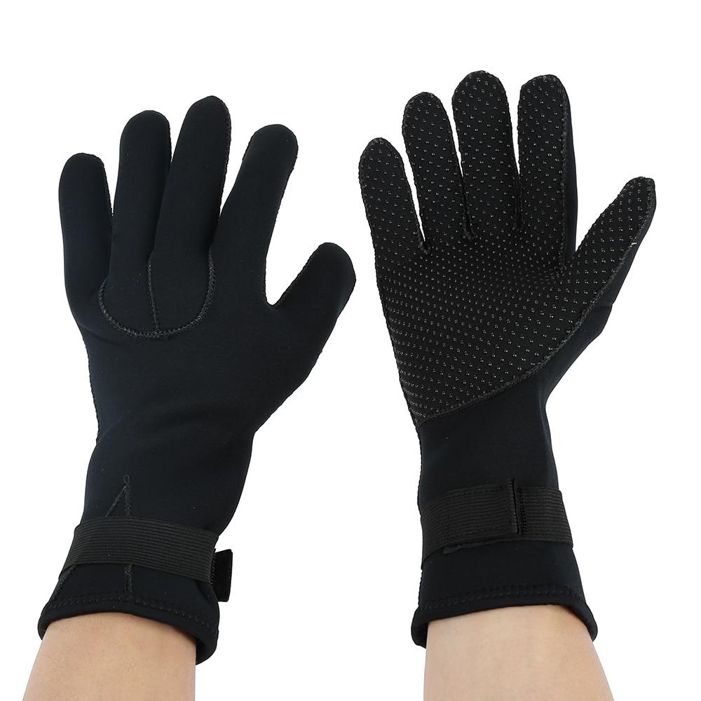 3MM Neoprene Swimming Diving Scuba Snorkeling Surfing Spearfishing Water Sport Gloves Winter Swimming Warm Mittens buff sport series water 2 gloves