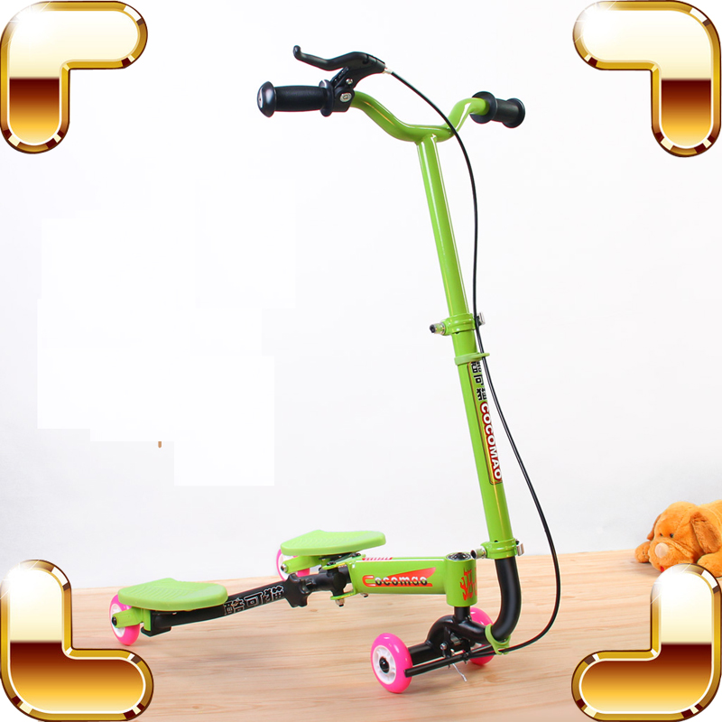 New Coming Gift Children Walker Bike Ride On Car Alloy Safety Outdoor Play Tool Family Parent Training Sport Toy Bicycle Present