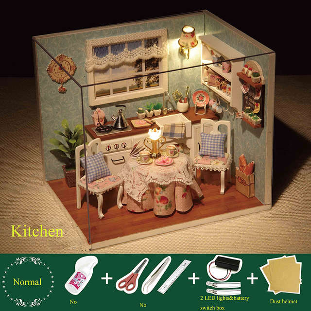 Puzzle Hy Series Small House Model Children S Toys Play Gift Diy