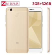 Original Xiaomi Redmi 4X Pro 3GB RAM 32GB ROM Mobile Phone Snapdragon 435 Octa Core 5.0″ 4100mAh FDD LTE 4G MIUI 8 Global Rom