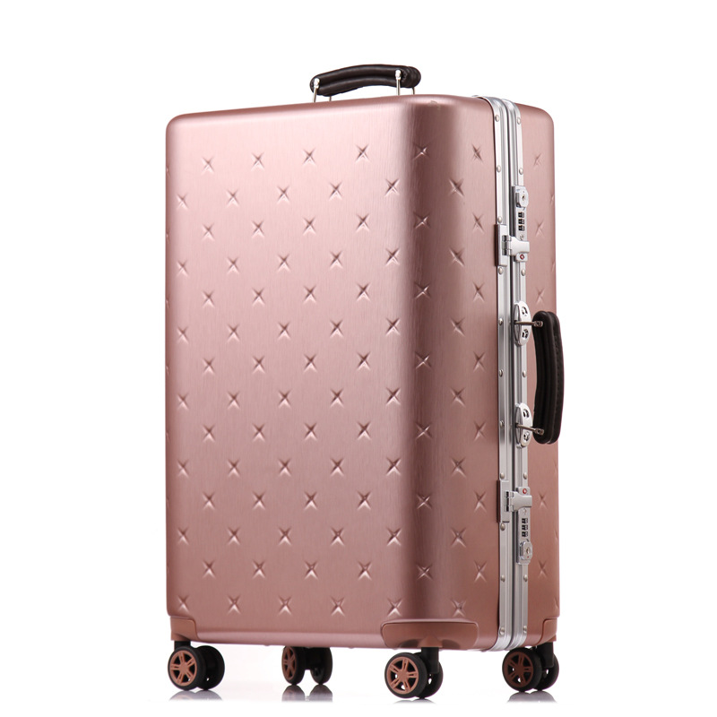 Letrend business Aluminium Frame Rolling Luggage Spinner Suitcases Wheels password Trolley 20 inch Cabin Travel Bag Trunk creative multifunction rolling luggage spinner men business travel bag aluminum frame suitcase wheels 20 inch cabin trolley