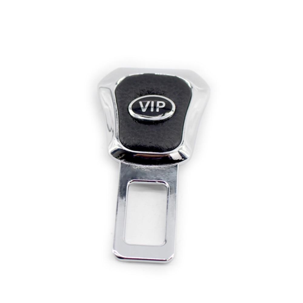 Car Safety Seat Belt Front Plug Clip Zinc Alloy Interior Decoration Aceessories