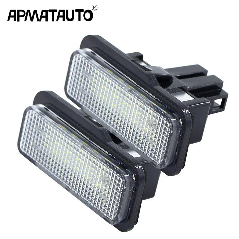 1103 2x LED SMD Kennzeichenbeleuchtung Mercedes Benz SLK R171 S203 W211 S211
