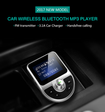 Car Bluetooth stereo A2DP music player support TF card/U disk MP3/WMA play