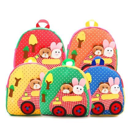 Cute Cartoon Doll Handmade Nursery Children School Bags For Boys ...