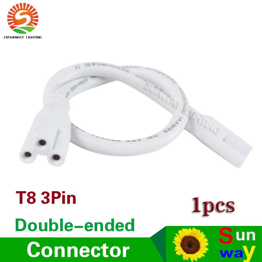 T8 T5 Integrated Led Tubes Lamp Both Ends 3pin Wires