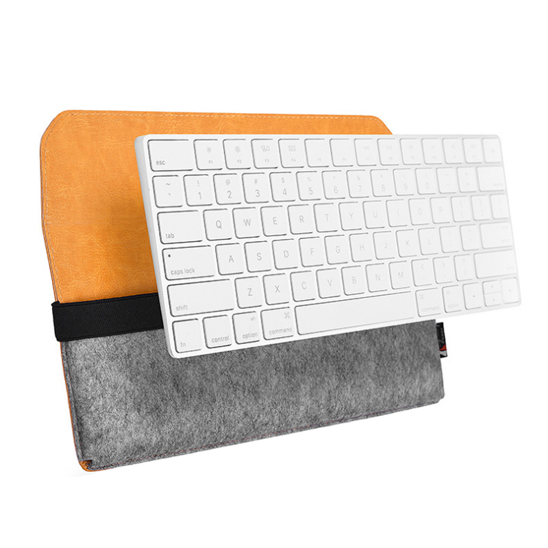 Pu Leather Protective Storage Sleeve Case Bag For Apple Magic Keyboard