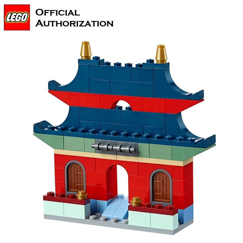 LEGO 583 pcs Klassieke Speelgoed Stapelen Blokken Doos Kinderen Speelgoed Educatief & Leren Lego Building Speelgoed Blocos De Construcao 10702 - 5