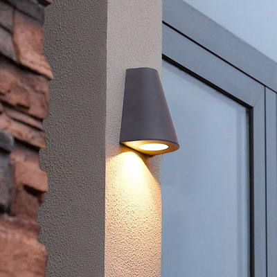 110v 220v Waterproof Garden Light Outdoor Wall Lamp Led Ip54 Mounted Scone Villa Hotel Fashion Lighting Black In Lamps From