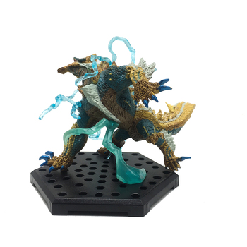 Popular Games Dragon Model Japan Monster Hunter World Monsters PVC Zinogre  Action Figure Decoration Christmas Gift Toy 2