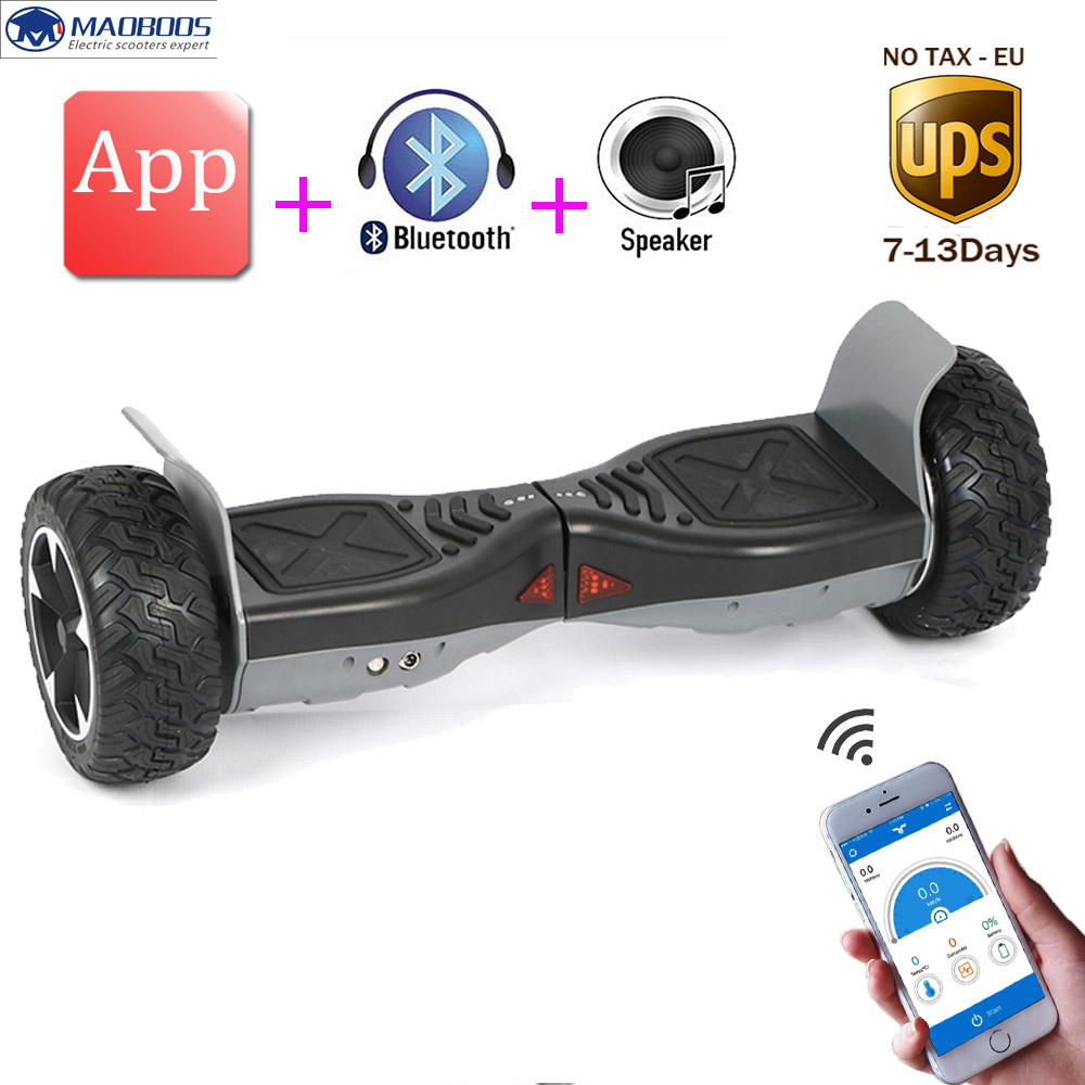 Super Power Balance Scooter 8.5Inch APP Hoverboard Electric Gyroscooter Big Tire Balancing Skateboard Standing up Overboard
