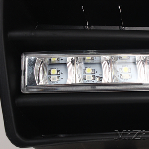Image 5 - 2pcs Led DRL Daytime Running Lights Fog Lights Lamps Grille led Grill For VW Golf GTi 1997 2006 for TDI MK4 W/ Controller H3 55W