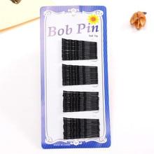 Fashion women black basic Hairpin