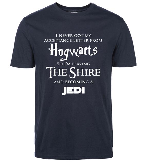 Harry Potter / LOTR / Star Wars –  men's T-shirt