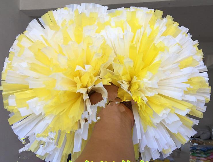 Kostenloser Versand Spiel Pompons Günstige praktische Cheerleading - Mannschaftssportarten - Foto 6