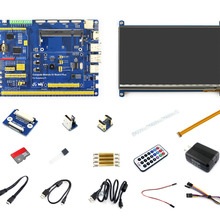 Raspberry Pi Compute Module 3 Lite Accessory Pack Type B (no CM3L) With 7inch HDMI LCD, DS18B20, Power Adapter, Micro SD Card