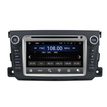 1024*600 Quad Core Android 5.1.1 Car Radio dvd gps for Mercedes Benz Smart 2012-2014 With 3G WIFI Bluetooth TV USB Mirror link
