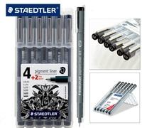 Germany Staedtler 308 Pigment Liner Gel Pen Hand Painted Design Drawing Pen Signing Pen 0 05mm