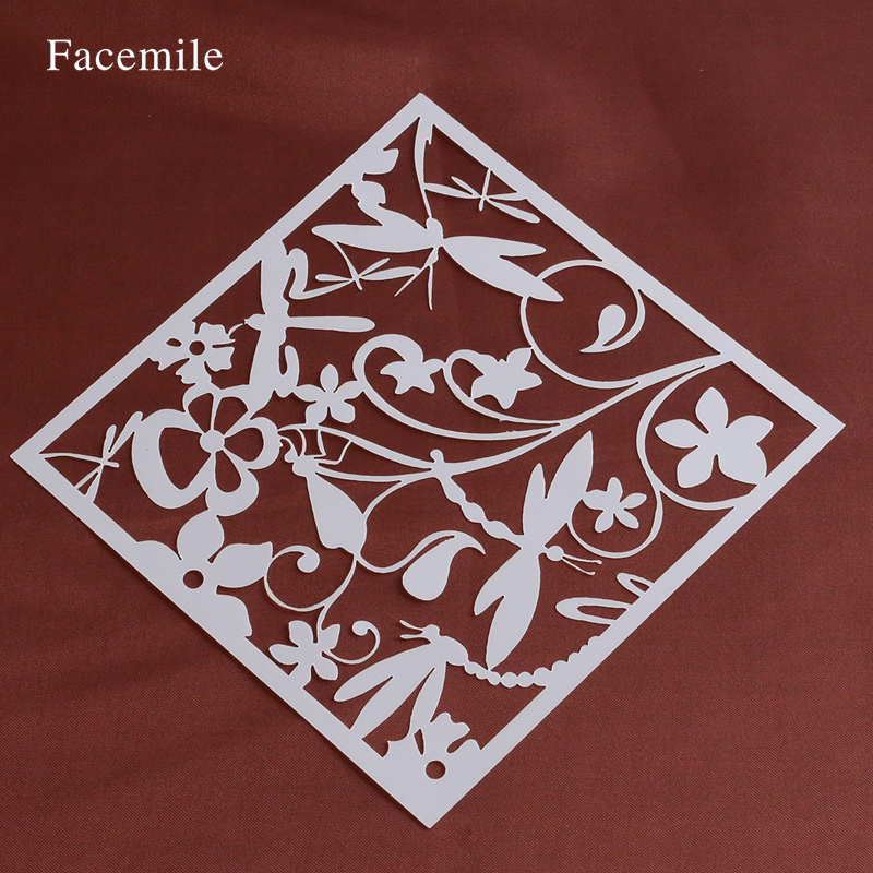 Facemile 13*13 cm hornear herramienta accesorios de cocina flower fondant cake d