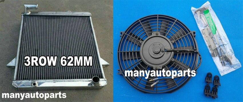 3 core aluminum radiator for Triumph TR6 1975 1976
