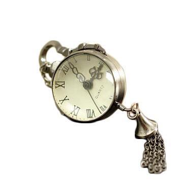 Relógio de Bolso Colar de Bola de Cristal Colar de Jóias Barato por Atacado Estilo Antigo Steampunk Pingentes Cadeia Dial 2.7 Centímetros Relógio