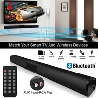 20W Bluetooth Speakers Computer TV Sound Bar 4 speakers USB AUX MP3 FM Radio Music Player Boom Box Super Bass Speaker Column