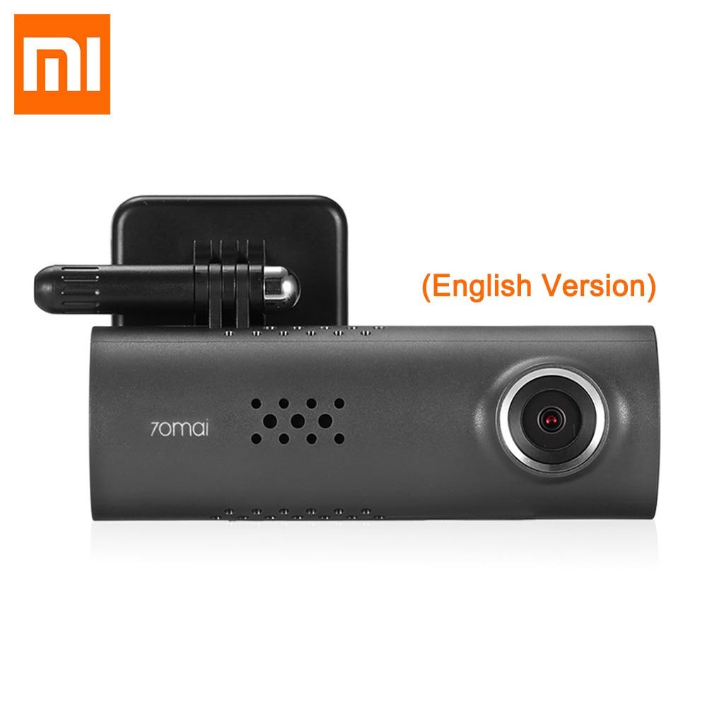 Xiaomi 70 minutos WiFi Car DVR 30fps 1080 p Full HD Driving Recorder Cámara 70mai Wrieless Dash Cam 130 grados Dashcam