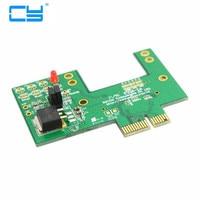 Mini PCI-e pcie pci express 52pin Prise à pcie pci express PCI-e Express Or Contacter Adaptateur carte PCBA Pour Sans Fil cartes