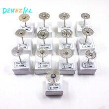 NUOVO 13 pz Dental Lab Diamante Disco per Taglio Dentale Intonaco Ruota A Disco gioielli lucidatura