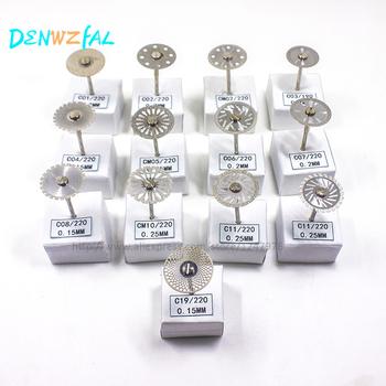 Nowy 13 sztuk laboratorium dentystyczne tarcza diamentowa do cięcia dentystycznego tynk tarcza koła biżuteria polerowanie tanie i dobre opinie Wybielanie zębów as follow Metal denwzfal Duża Dental Cutting Science Metal Moderate