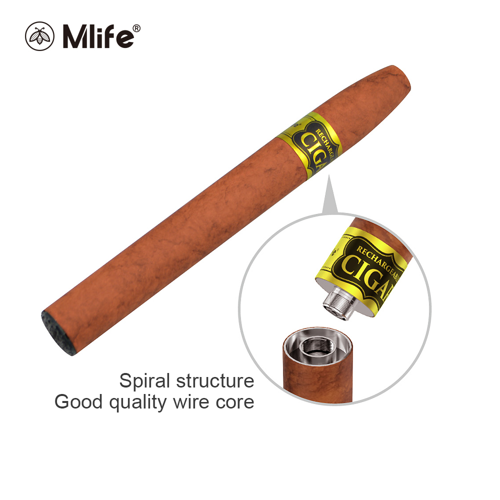 100% Original Mlife E-cigar3 Kit Electronico to Cigar Pen Kit With 900MAH Battery capacity vape vaper Rechargeable refillable100% Original Mlife E-cigar3 Kit Electronico to Cigar Pen Kit With 900MAH Battery capacity vape vaper Rechargeable refillable