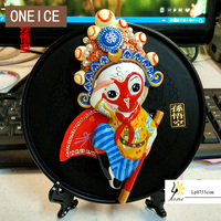 ONEICE Envío Libre placa exposición Beijing Ópera de Pekín adornos regalos de Asuntos Exteriores en el extranjero artesanías recuerdos