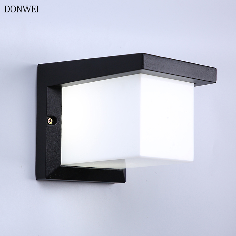 12w Led Outdoor Wall Light Mounted