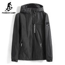 Pioneer Camp New Spring куртка мужская брендовая одежда модная толстовка с капюшоном пальто мужской