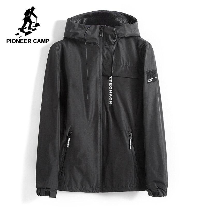Pioneer Camp veste hommes coupe vent automne hiver à capuche mâle imperméable doux shell bomber veste techwear pour homme AJK707009-in Vestes from Vêtements homme on AliExpress - 11.11_Double 11_Singles' Day 1