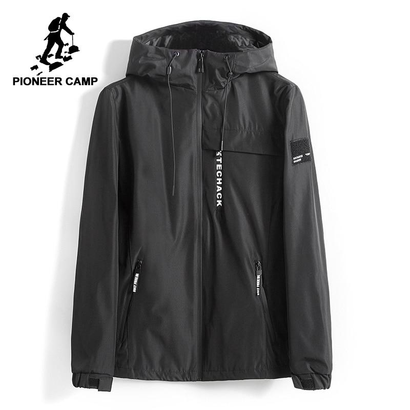 Pioneer Kamp jas mannen windjack herfst winter hooded mannelijke regenjas soft shell bomberjack techwear voor man AJK707009-in Jassen van Mannenkleding op AliExpress - 11.11_Dubbel 11Vrijgezellendag 1