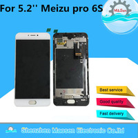 M Sen For 5 2 Meizu Pro 6S LCD Display Screen Touch Panel Digitizer With Frame