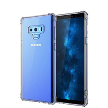 Military Super Anti-knock phone case For Samsung Galaxy S9+s8PLUS thick TPU soft clear bumper phone cover For Note 9 note5 NOTE8
