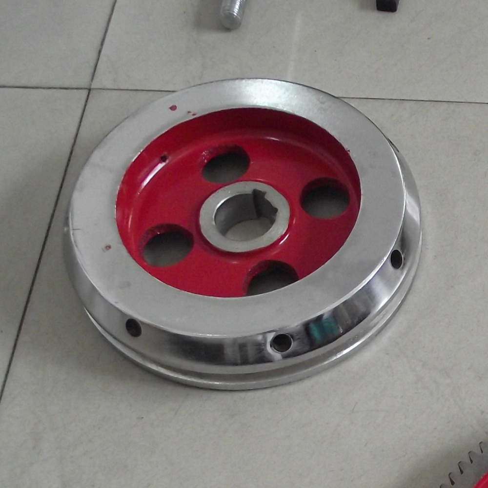 the tablet press machine TDP-5 parts big pulley  цены