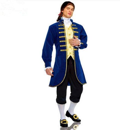 eropa pakaian bangsawan kostum eropa politisi untuk pria halloween masquerade